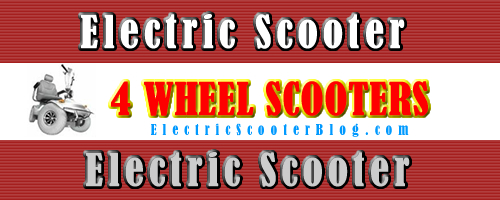 4-Wheel Scooters - Wheelchairs | Electric Mobility Scooters