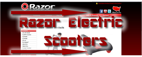 Electric Scooter Blog 187 Razor Electric Scooters For Sale
